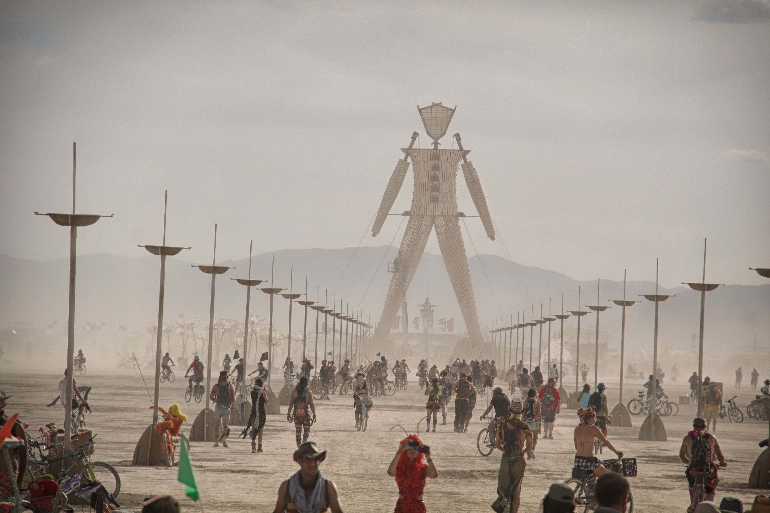 A Man on the Playa