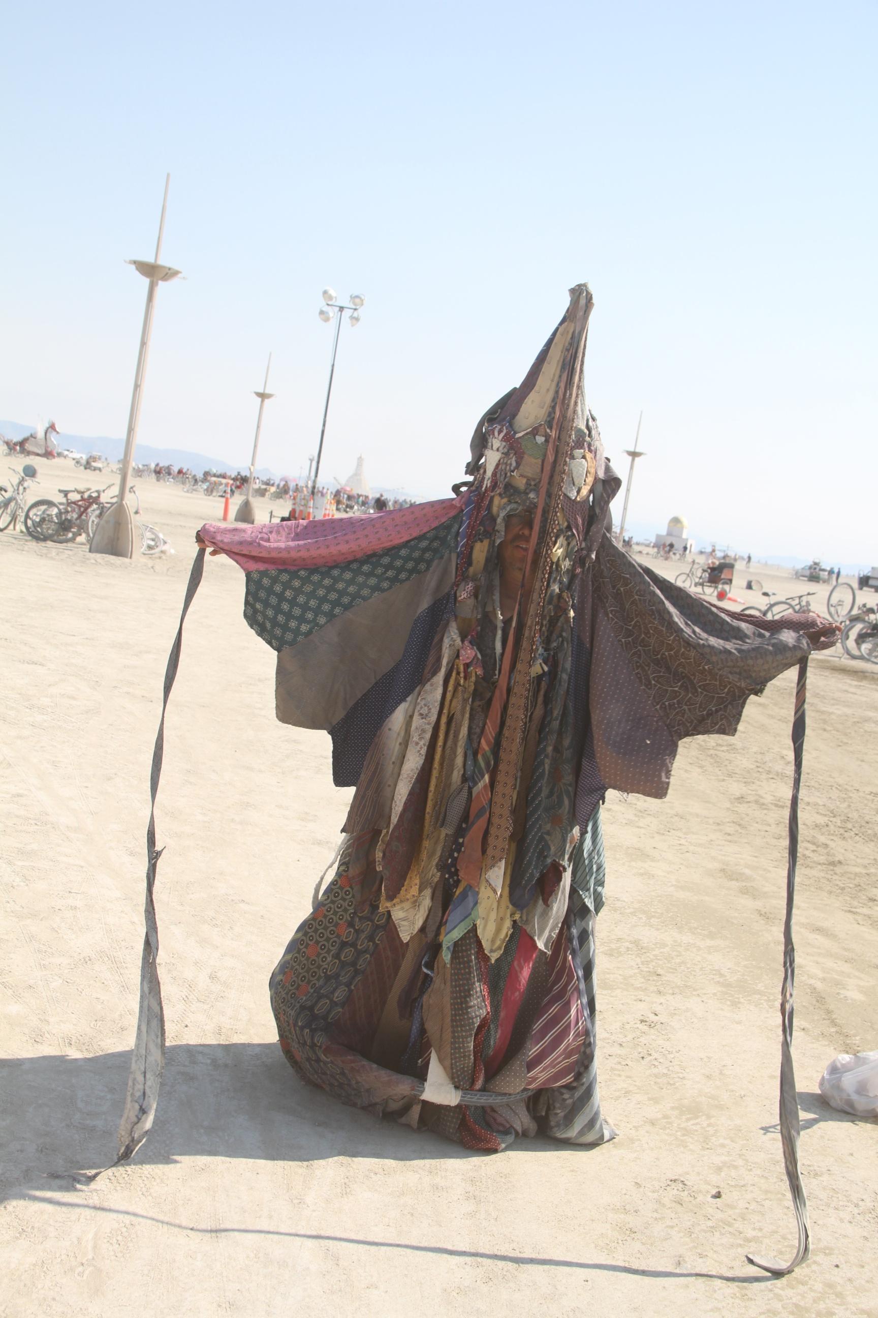 Ghost at Burning Man 2014